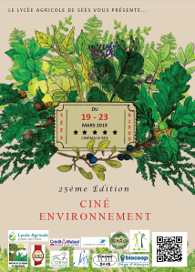 affiche 25ème ciné environnement